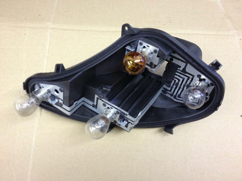 Citroen C4 mk2 Bulb holder VPAP2X-13N004 bracket New
