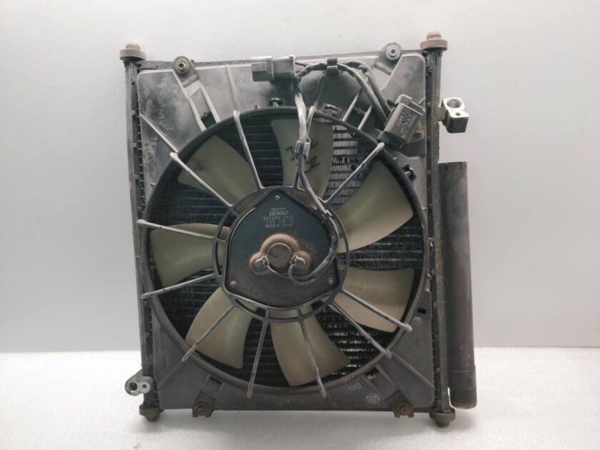 radiator Air Con honda Jazz mk1 Fit 80110-SAA-305 80151-SAA-003