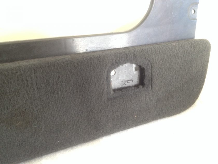 Boot trim panel carpet side Left VW Touareg 7L5863527 L 7L0863527 K