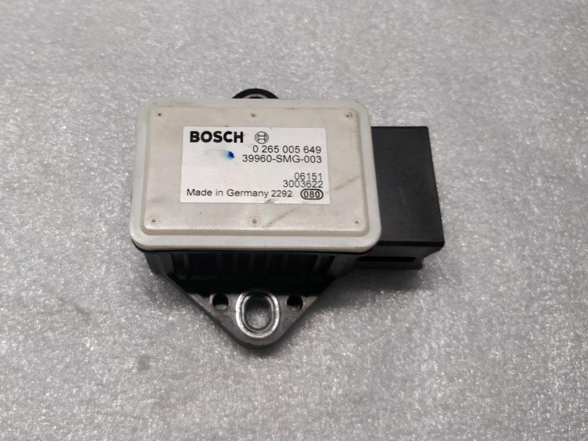sensor Yaw Rate Honda Civic mk8 0265005649 39960-SMG-003 1.8 R18A2