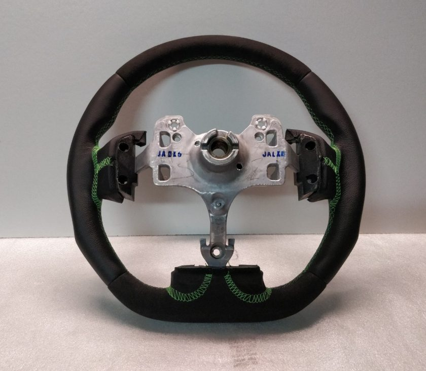 Isuzu D-max steering wheel leather Flat Bottom 2017-2019 New