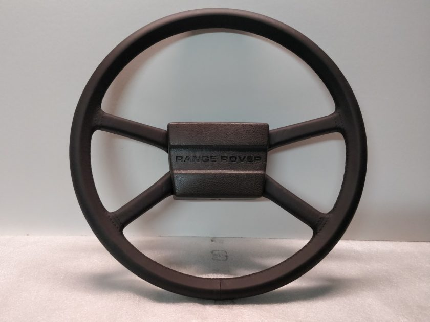 LAND ROVER Steering wheel early classic leather 36 spline Defender, Range Rover