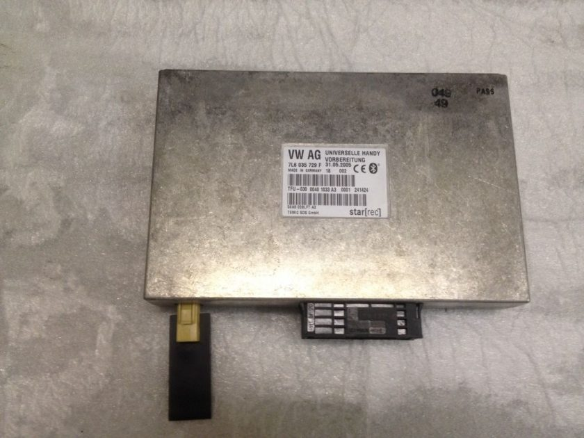 Bluetooth module VW touareg 7L6035729 F Phone ecu