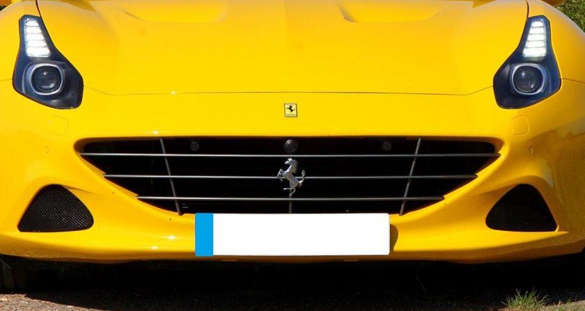 grille Ferrari California 2015-2018 black new