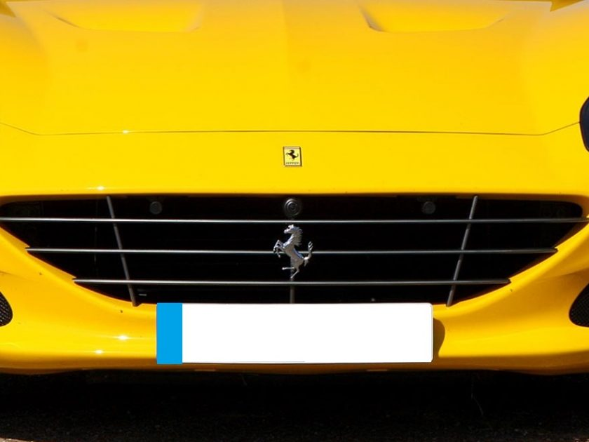 grille Ferrari California 2015-2018 black new
