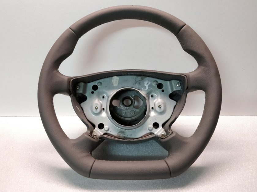 Mercedes W211 steering wheel 2114600203 grey leather custom sport
