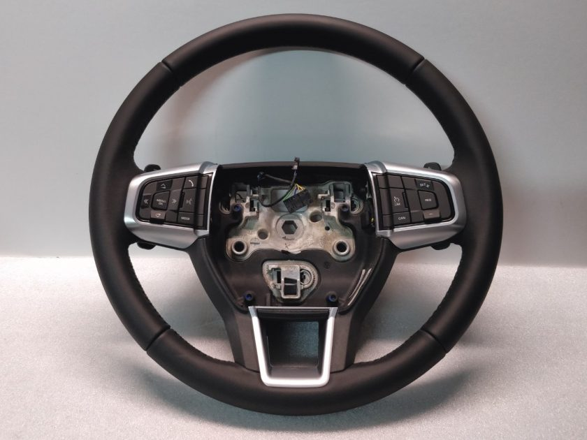 Steering wheel Discovery Sport FK72-3F563-HD8PVJ Paddles Leather OEM New 2016-2020