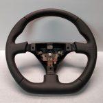 Mazda RX-7 Steering wheel custom flat bottom Red Stitch FD3S