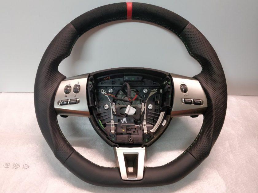 Jaguar XF steering wheel 2008-2011 8323CCLEG Flat alcantara