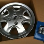 Ford KA alloy wheel fiesta 14'' 1S6J-BA NEW
