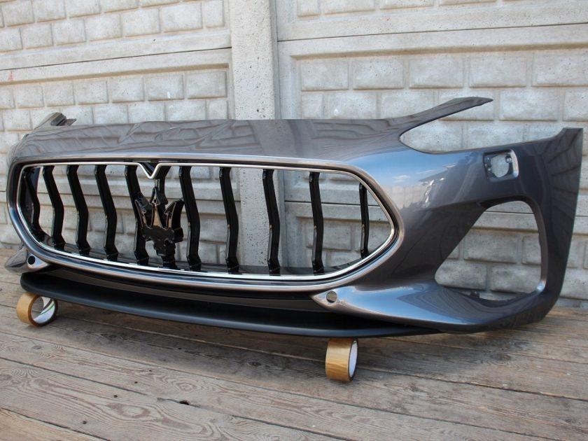 Maserati GranTurismo Bumper front Grey 17-19 facelift