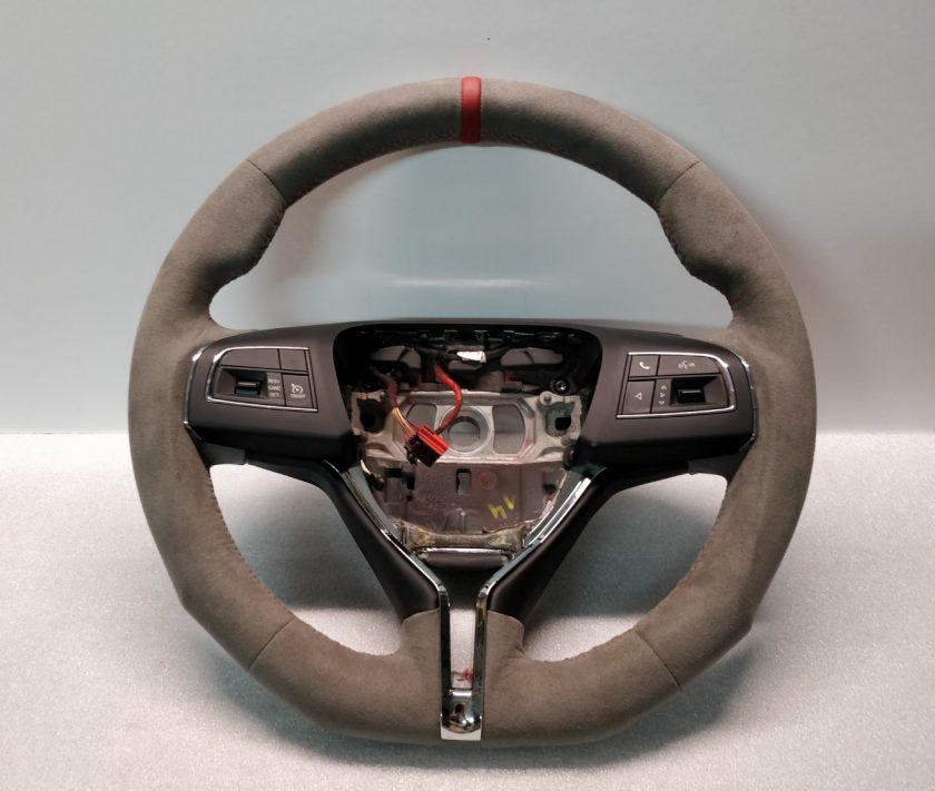 Maserati Levante steering wheel Alcantara 06700445060 Custom Flat Ghibli Quattroporte