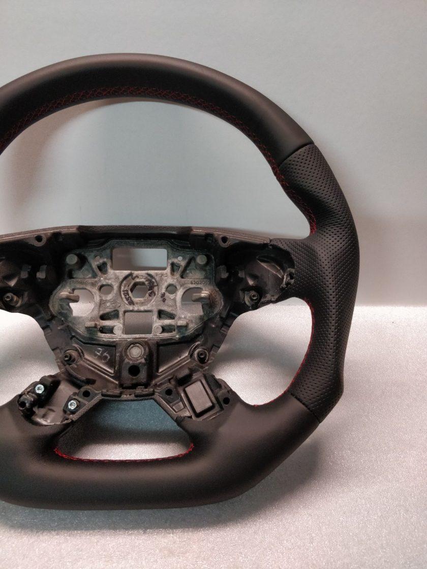 Ford Transit Custom steering wheel flat bottom New leather BK21-3600-FC mk8