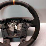 FORD RANGER Steering wheel Alcantara custom orange band AB39-3600-EAW