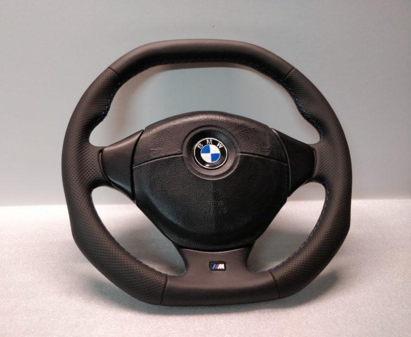 BMW M3 E36 Z3 steering wheel M-SPORT custom flat bottom 2228230