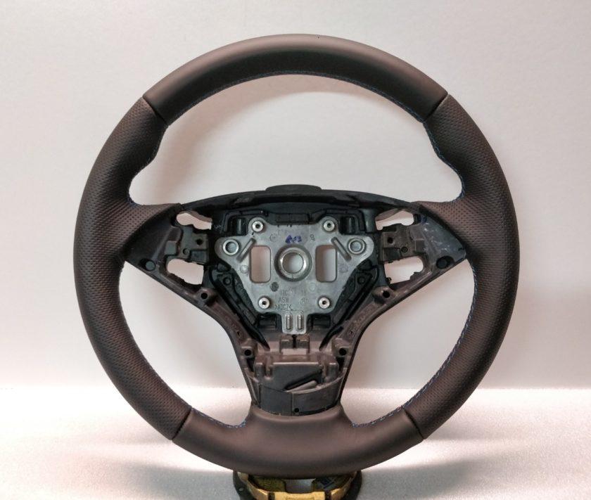 BMW steering wheel E60 Paddles shift E61 E63 New leather