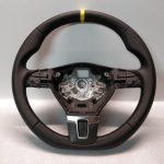 VW T5 Transporter Steering wheel Flat bottom 2009 Scirocco Golf GTI R-line Custom