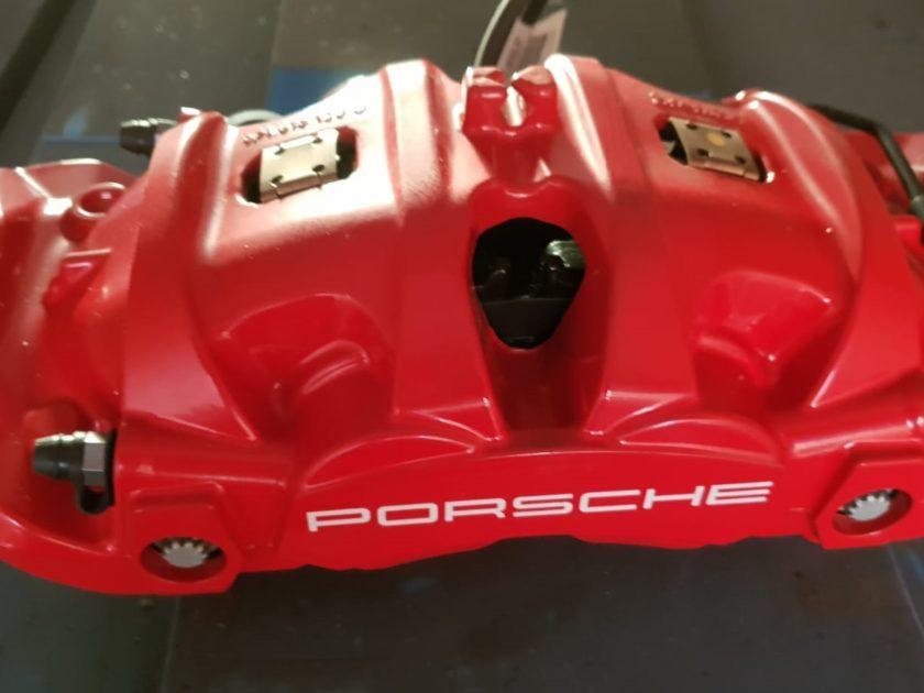 Porsche 718 982 brake caliper front Brembo red 982615105
