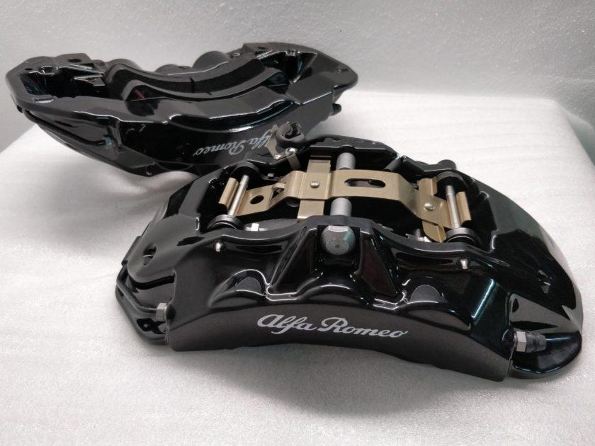 Brake calipers 6 pot Alfa Giulia Stelvio QV Brembo Quadrifolgio 2.9