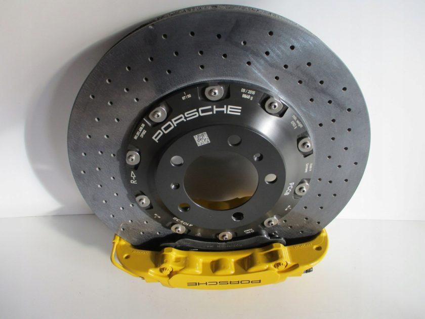 Porsche 991 GT3 RS CERAMIC BRAKE DISCS 991351408 991352410 991352409