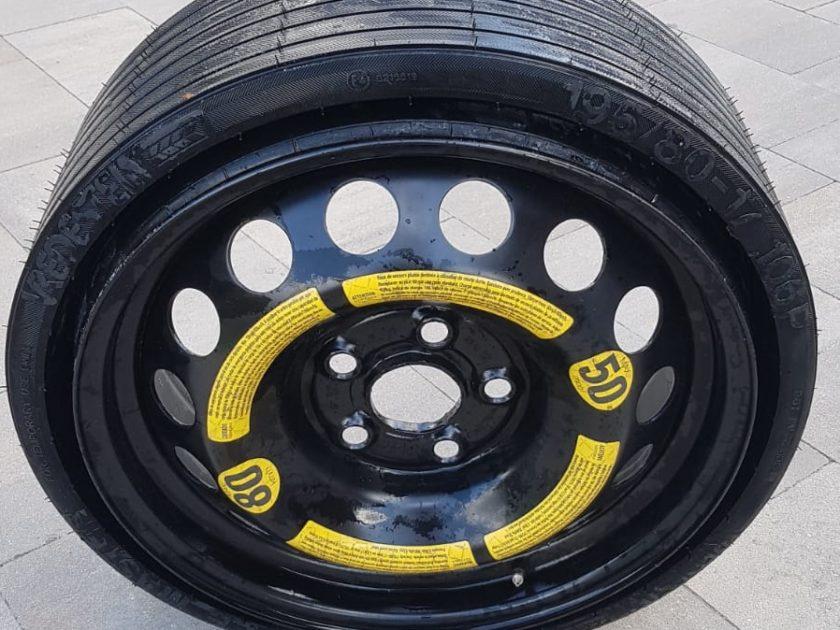 VW TOUAREG 2.5TDI Space saver wheel 5x120 spare 7L6601027 B ET40