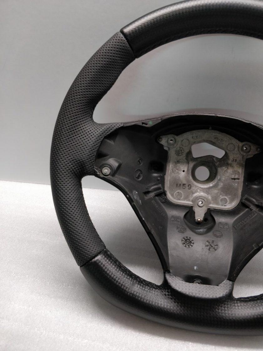 BMW Steering Wheel M-SPORT E90 E88 FLAT New Leather E87 E91