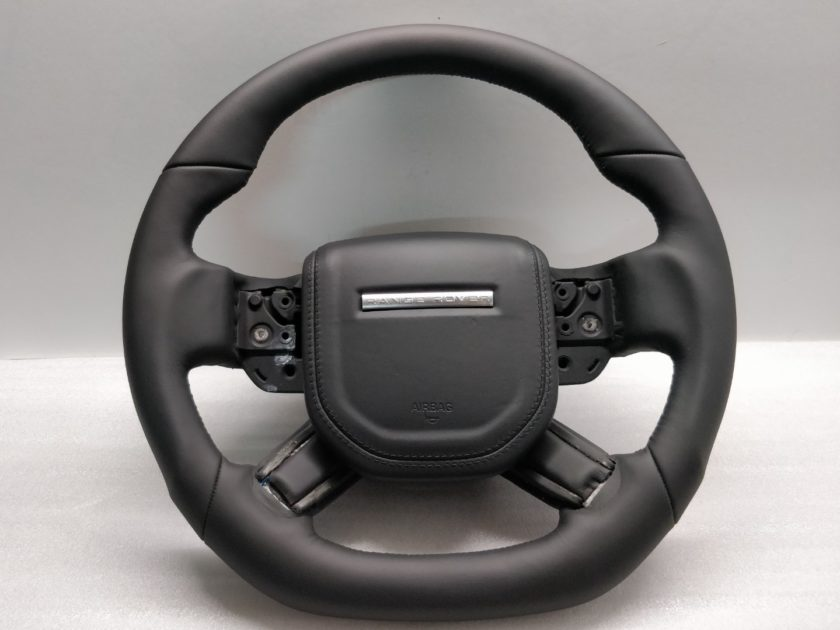 Steering wheel Range Rover L405 L494 13+ Custom Sport flat Leather black