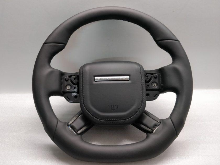 Steering wheel Range Rover L405 L494 13+ Custom Sport flat Leather black