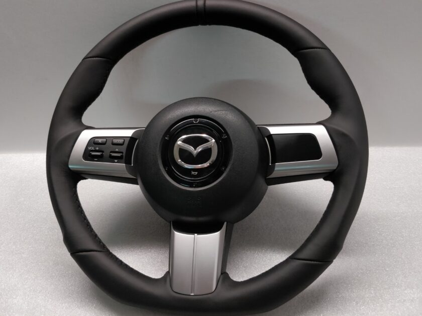 Mazda mx5 steering wheel Flat Sport Custom 2005-2015 CX-7 RX-8