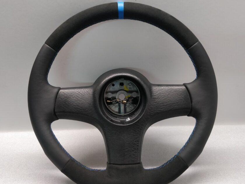 Ford Sierra Escort 90BB-3600-BA steering wheel cosworth leather custom flat