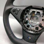 Steering wheel Facelift 2005+ BMW E60 E63 E61 m-sport 6058833 Carbon Flat