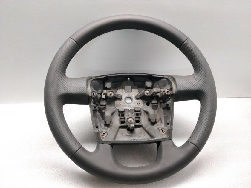 Grey Leather steering wheel Peugeot Boxer Ducato Fiat 30380409